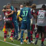 Gol de Gabigol contra Santos
