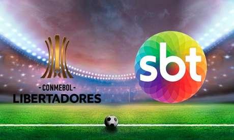 Libertadores e SBT (Reprodução TERRA)